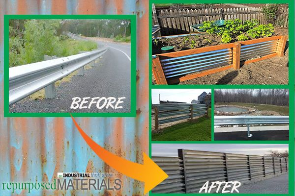 USED Highway Guardrails for Sale | repurposedMATERIALS
