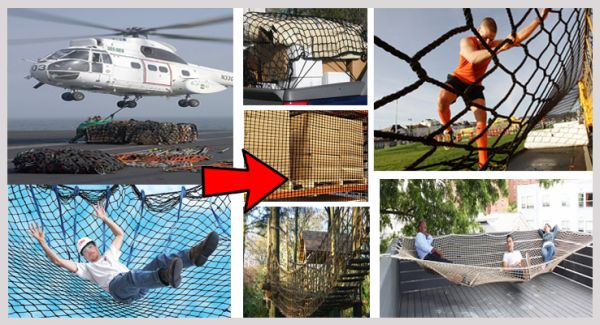 Used Safety Cargo Netting Repurposedmaterials