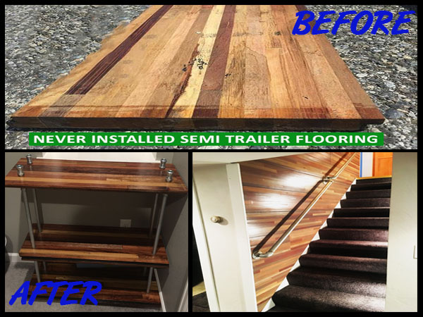 New semi trailer flooring repurposedmaterials for 6x12 wood floor trailer