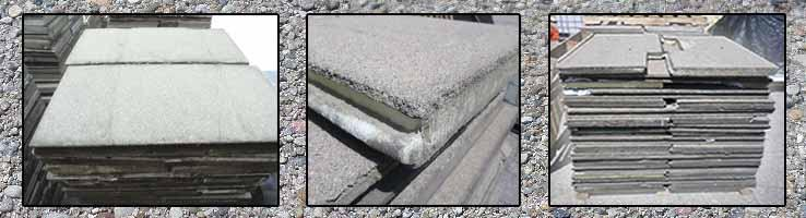 USED Insulated Pavers | repurposedMATERIALS