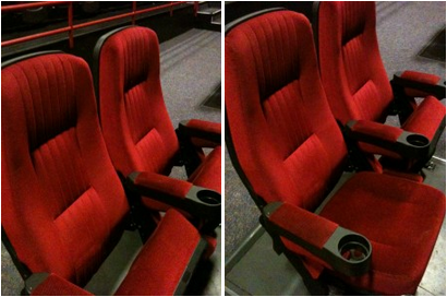 red plush theatre theater seats