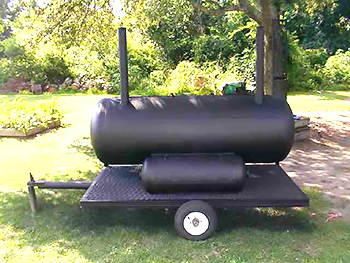 repurposedMATERIALS: Denver - Steel Propane Tank - BBQ Grill or Smoker repurpose
